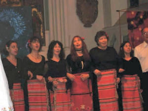 London Bulgarian Choir ladies